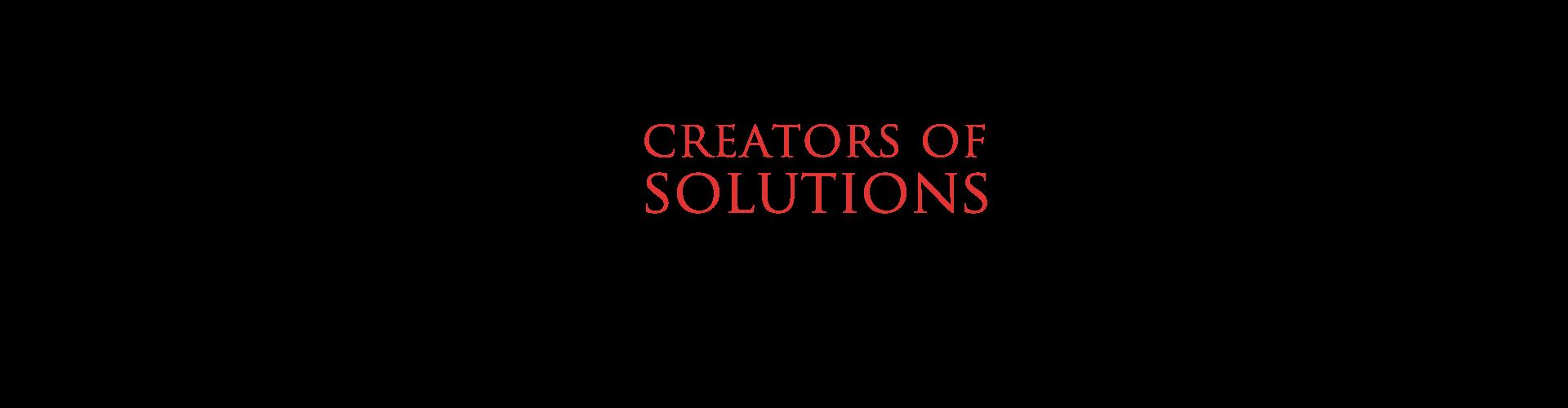 creators of solutions